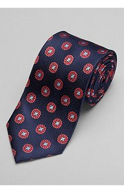 Jos Bank Reserve Collection Floral Tie - Long