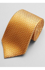 Jos Bank Reserve Collection Swirl Tie - Long