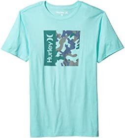 Hurley One & Only Camo Box Short Sleeve Tee