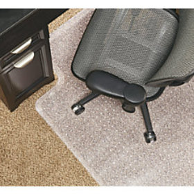 Realspace Economy Studded Chair Mat For