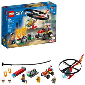 LEGO City Fire Helicopter Response 60248 Toy Firef