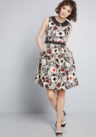 ModCloth ModCloth Whimsy Without End A-Line Dress