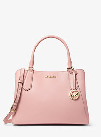 Michael Kors Kimberly Large Pebbled Leather Satche