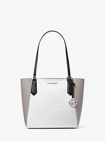 Michael Kors Kimberly Small Color-Block Logo and L