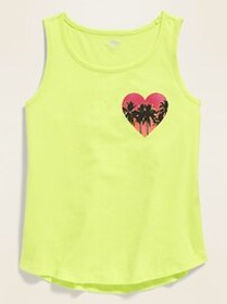 Graphic Tank Top for Girls