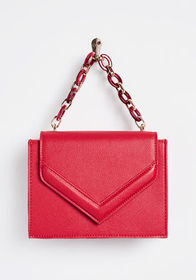 It's a Colorful Life Mini Clutch Red