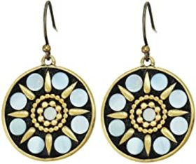 Lucky Brand Mother-of-Pearl Inlay Drop Earrings