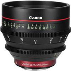 Canon Cinema Prime CN-E 50mm T1.3 L F (EF Mount) L