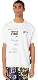 Versace Jeans Couture 50/50 Over Fit T-Shirt