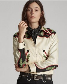 Ralph Lauren Embroidered Western Jacket