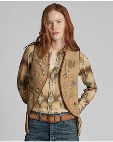 Ralph Lauren Limited-Edition Suede Vest