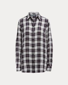 Ralph Lauren Plaid-Print Shirt
