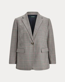 Ralph Lauren Glen Plaid Wool-Blend Blazer