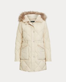 Ralph Lauren Patch-Pocket Down Coat