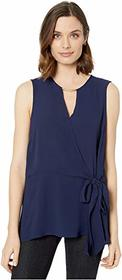 MICHAEL Michael Kors Bar Neck Crossover Top