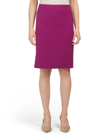 TAHARI BY ASL Double Back Vent Pencil Skirt