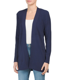 ELEVEN Open Front Cardigan