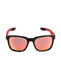 Nike 57MM Square Sunglasses RED