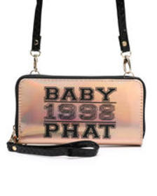 Baby Phat baby phat crossbody wallet w/ wristlet s