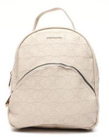 Rampage embossed logo dome midi backpack