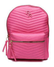 Rampage monochrom quilted dome backpack
