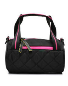 Rampage quilted sporty barrel crossbody