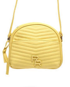 Rampage monochrom quilted crossbody