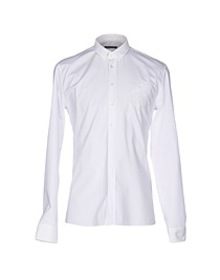 BALMAIN - Solid color shirt
