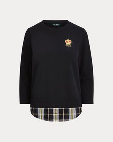 Ralph Lauren Layered Jersey Sweatshirt
