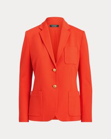 Ralph Lauren Stretch Ponte Blazer