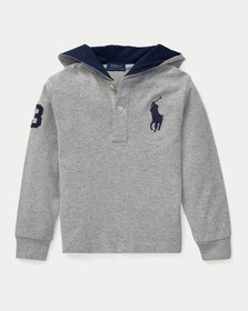 Ralph Lauren Big Pony Cotton Hooded Tee