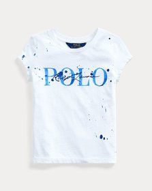 Ralph Lauren Paint-Splatter Cotton Tee