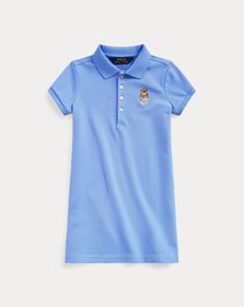 Ralph Lauren Madras Bear Mesh Polo Dress