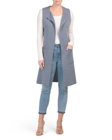 PHO Made In Italy Solid Contemporary Vest