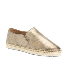 FRYE Leather Espadrille Flats