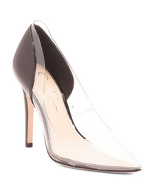 JESSICA SIMPSON Lucite Pumps