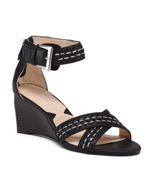 Reveal Designer Woven Vamp Wedges