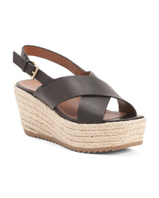 NATURALIZER Slingback Comfort Leather Espadrille S