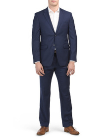 PERRY ELLIS Bright Blue Suit Collection