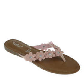 Womens Capelli New York Floral Thong Sandals with