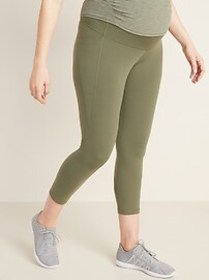 Maternity High-Waisted Elevate Compression Side-Po