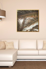 PTM Images Fronds-Medium Floater Framed Canvas