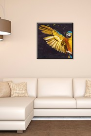 PTM Images Parrot-Small Floater Framed Canvas