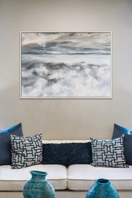 PTM Images Endless Clouds-Large Floater Framed Can