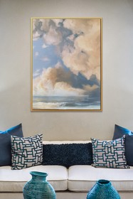 PTM Images Cumulus-Large Floater Framed Canvas
