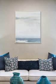PTM Images Calm-Medium Floater Framed Canvas