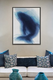 PTM Images Fish Silhouette-Large Floater Framed Ca