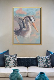 PTM Images Pelican-Large Floater Framed Canvas