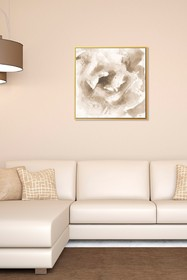 PTM Images Gold Rose-Small Floater Framed Canvas
