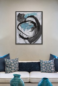 PTM Images Dance II-Medium Floater Framed Canvas